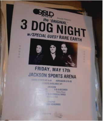 3 DOG NIGHT POSTER